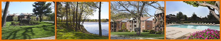 Enjoy Fall  in New England at Charlesbank Garden Apartments - relaxed lifestyle living overlooking the banks of the Charles River in Waltham, MA.